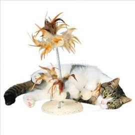 Igračka na postolju za mace