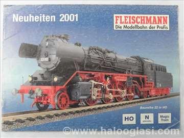 Katalog Fleischmann, 2001. god.