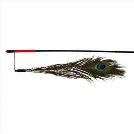 Pecaljka paunovo pero 47cm