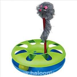 Plastični tunel sa lopticom i mišem 24cm