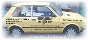 Registracija vozila i prenos vlasništva