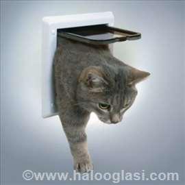 Vratanca za mačke sa dve funkcije