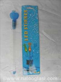 Led striper-mešač leda, svetleći, na 3 baterije