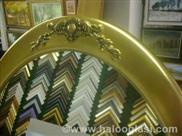 Ovalno ogledalo 002050
