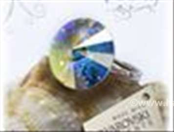 Swarovski prsten 12mm AB