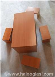 Sto i četiri stolice novo