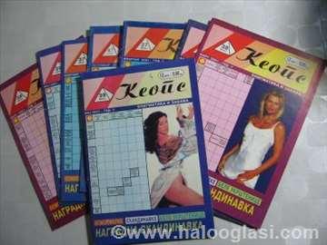 Ukrštenice - Keops - više brojeva