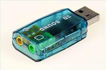 Zvučna kartica USB 5.1 3D Sound novo