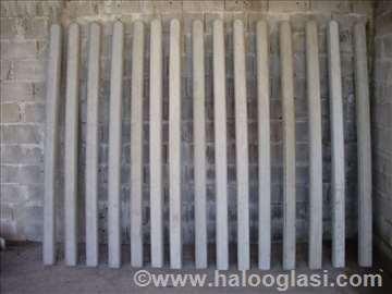 Betonski stubovi, ivičnjaci, kanalice...Beograd