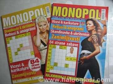 Ukrštenice - Monopol - brojevi 9 i 10
