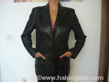 Mona kožna jakna sako veličina M/L