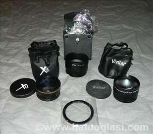 Objektivi za Nikon tele i siroki+ razna oprema