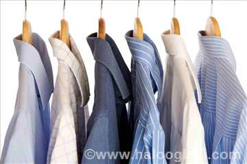 Hemijsko čišćenje, pranje i sušenje veša, peglanje