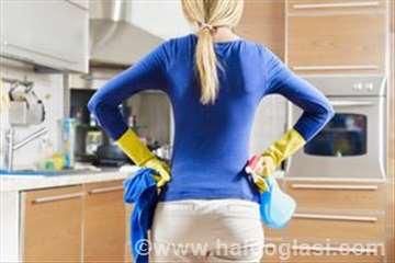 Čišćenje objekata i pomoć u kući
