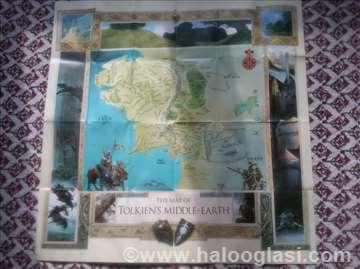 Mapa Srednje zemlje