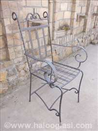 Stolice kovano gvožđe