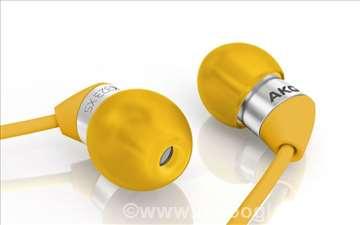 AKG K323 XS YELLOW ultralake In-ear slušalice