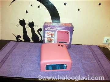 Roza-Bela lampa sa tajmerom za nokte 36W