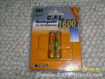 C.F.L. Ni-Mh 1600mAh rezer.