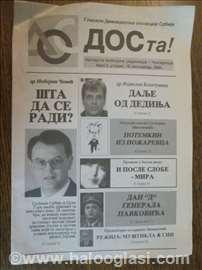 Letak DOS-a iz 2000