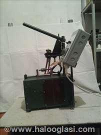 Aparat za punktovanje izvoda namotaja rotora