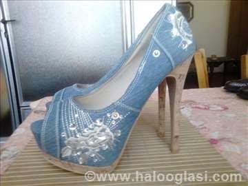 Džins cipele