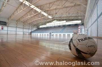 Iznajmljivanje vrhunske hale za mali fudbal