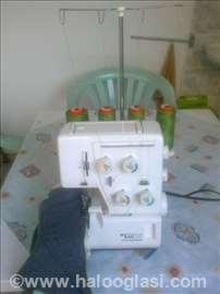 Tekstilna mašina ovrerok (endlarica)