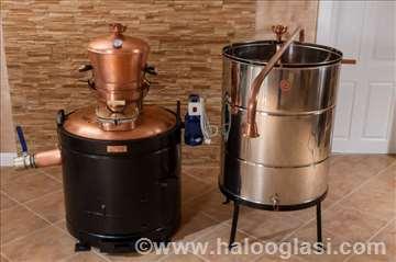 Kazan za pečenje rakije 160l sa kugla ventilom