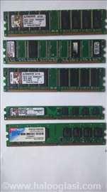 Povoljne memorije DDR1/DDR2