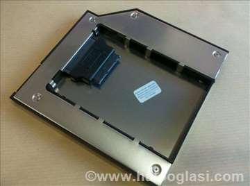 Laptop Caddy univerzalna fioka SSD HDD nosač