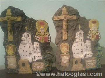 Statue manastira Ostrog