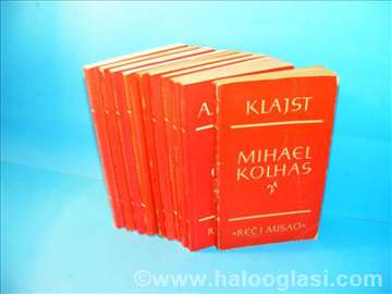 Biblioteka reč i misao - 10 knjiga