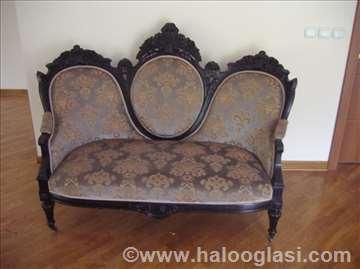 Kompletan salon -  stil Napoleon III