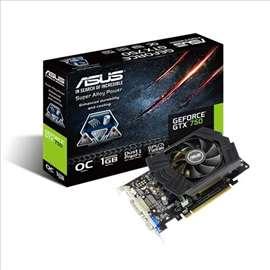 Akcija Asus GTX750 PHOC 1GD5 1GB DDR5