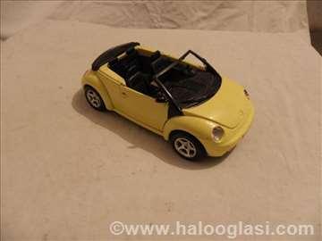Burago VW Beetle, Italy,1:24, fali staklo