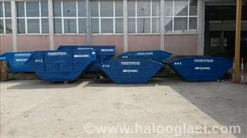 Odvoz šuta i ostalog otpada kontejnerima,povoljno!