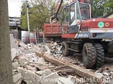 Prevoz i iskop zemlje