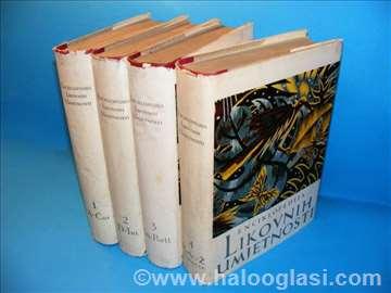 Enciklopedija likovnih umjetnosti 1-4, komplet