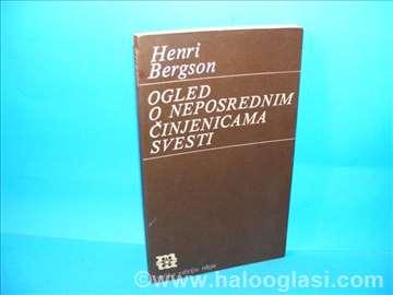 Ogled o neposrednim činjenicama svesti H.Bergson