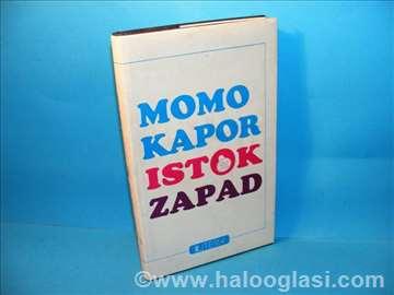 Momo Kapor, Istok-Zapad