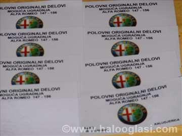 Alfa romeo 147 -156 DELOVI KALUDJERICA
