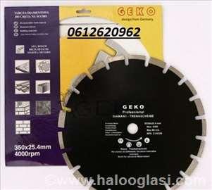 Dijamantska ploča 350mm za asfalt