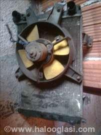 Hladnjak sa ventilatoron za novi tip jug