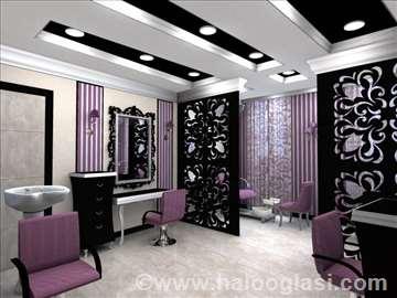 Radna mesta za frizerski salon