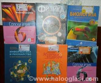 Knjige za VI razred osnovne škole