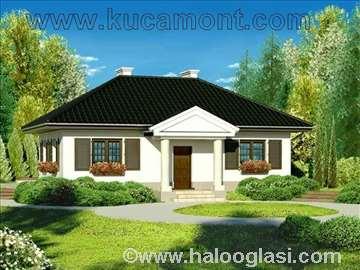 Montažna kuća Domo 4 - Montažne kuće KućaMont