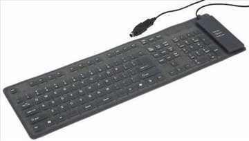 KB-109F-B fleksibilna tastatura