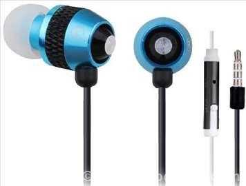 MHS-EP-002 Metal MP3 slušalice sa mikrofonom
