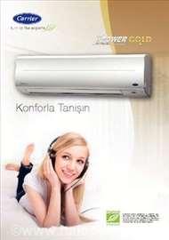 Klima uređaji - prodaja, servis, ugradnja